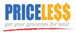 A theme logo of Price Less Foods
